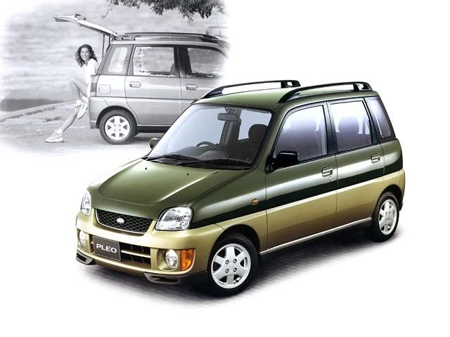 Subaru Pleo хетчбэк, 1998–2016, 1 поколение - отзывы, фото и характеристики на Car.ru