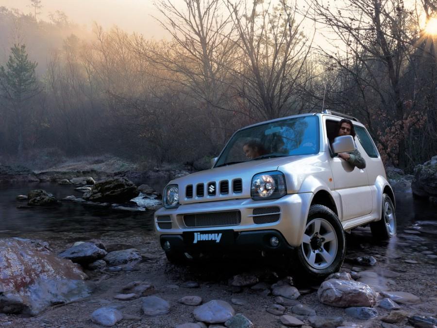 Suzuki Jimny внедорожник 3-дв., 2005–2012, 3 поколение [рестайлинг] - отзывы, фото и характеристики на Car.ru
