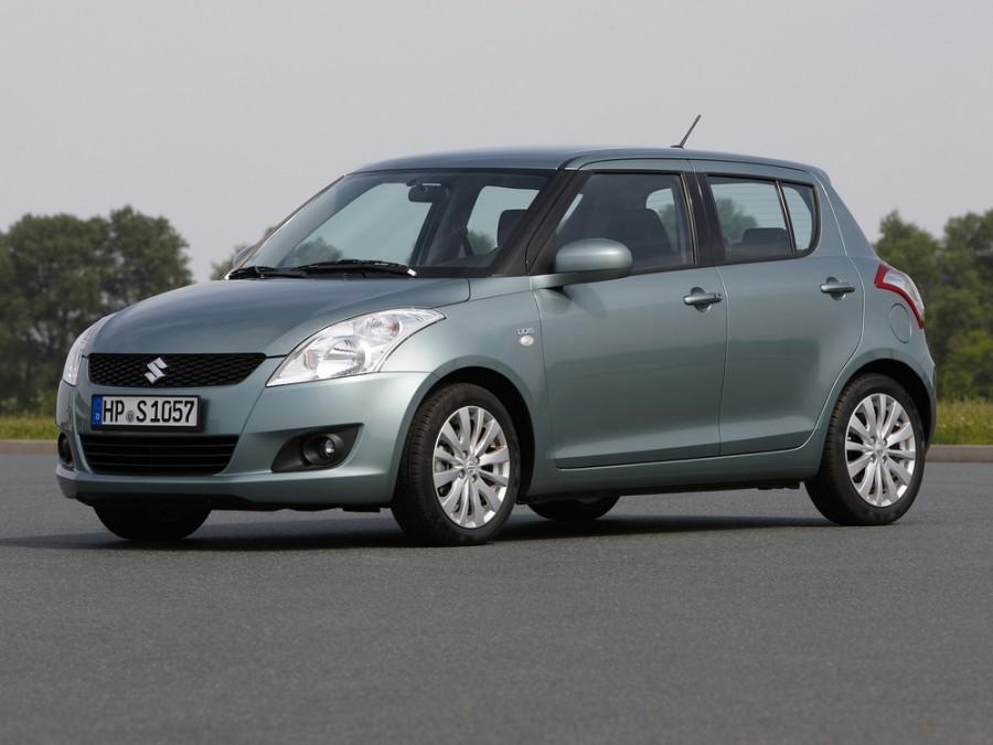 Suzuki Swift хетчбэк 5-дв., 2010–2014, 4 поколение - отзывы, фото и характеристики на Car.ru
