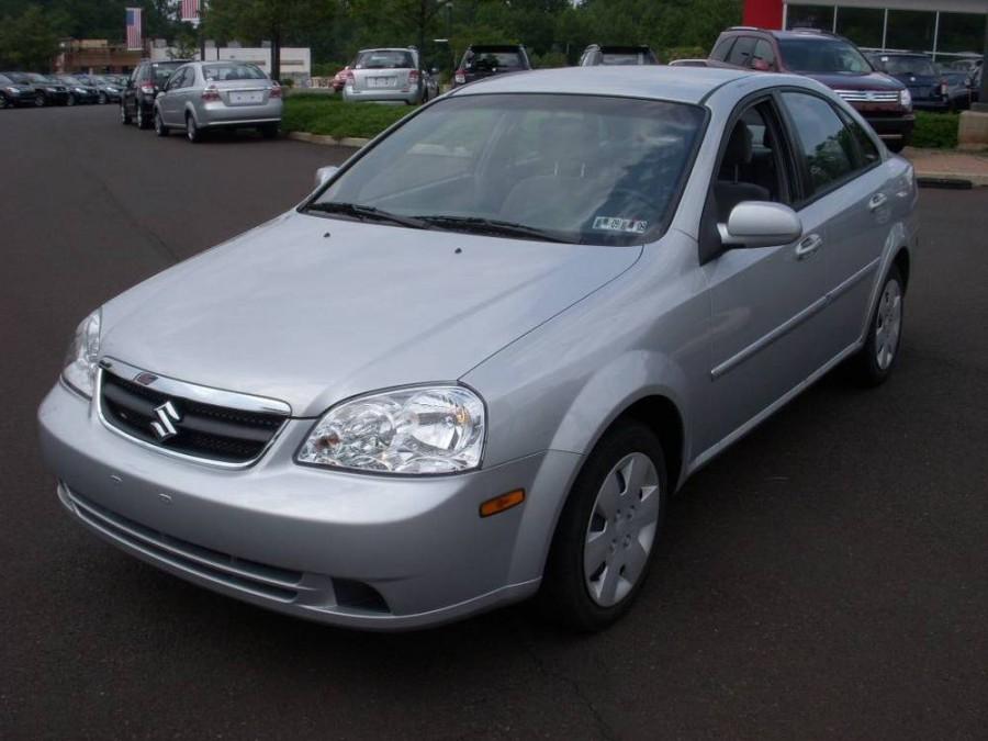 Suzuki Forenza седан, 2006–2010, 1 поколение [рестайлинг] - отзывы, фото и характеристики на Car.ru