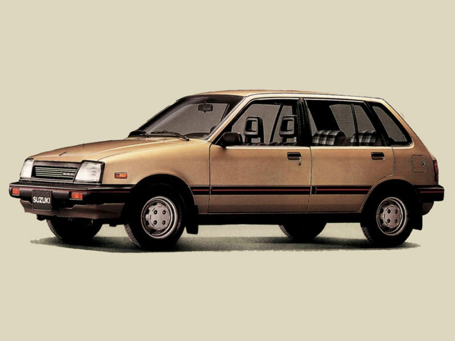 Suzuki Swift хетчбэк 5-дв., 1984–1986, 1 поколение - отзывы, фото и характеристики на Car.ru