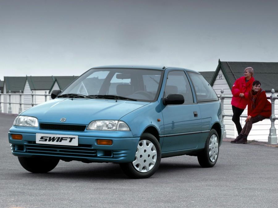Suzuki Swift хетчбэк 3-дв., 1990–1996, 2 поколение - отзывы, фото и характеристики на Car.ru