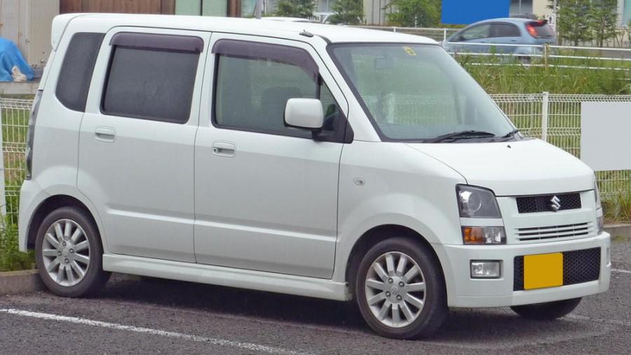 Suzuki Wagon R RR минивэн, 2003–2008, 3 поколение - отзывы, фото и характеристики на Car.ru