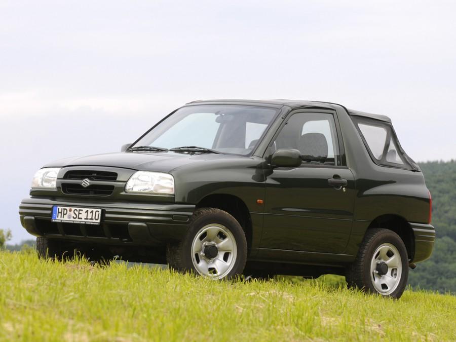 Suzuki Grand Vitara кабриолет 3-дв., 1998–2005, 1 поколение - отзывы, фото и характеристики на Car.ru