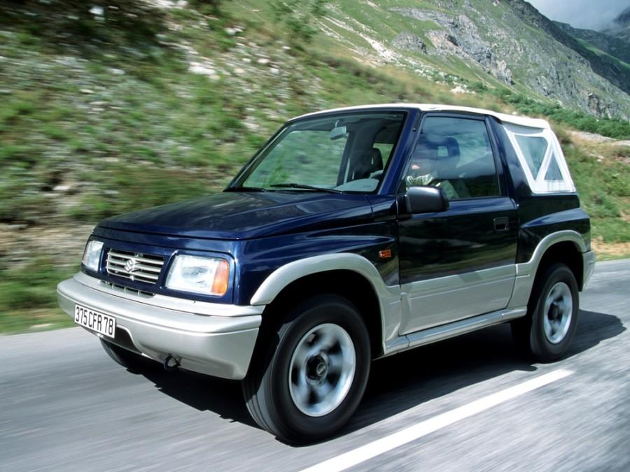Suzuki Vitara кабриолет, 1988–2016, ET - отзывы, фото и характеристики на Car.ru