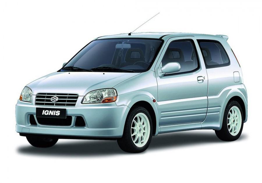 Suzuki Ignis хетчбэк 3-дв., 2000–2003, 1 поколение - отзывы, фото и характеристики на Car.ru