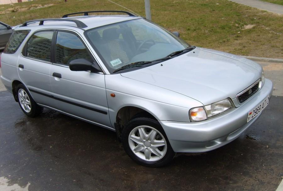 Suzuki Baleno универсал, 1995–2002, 1 поколение - отзывы, фото и характеристики на Car.ru