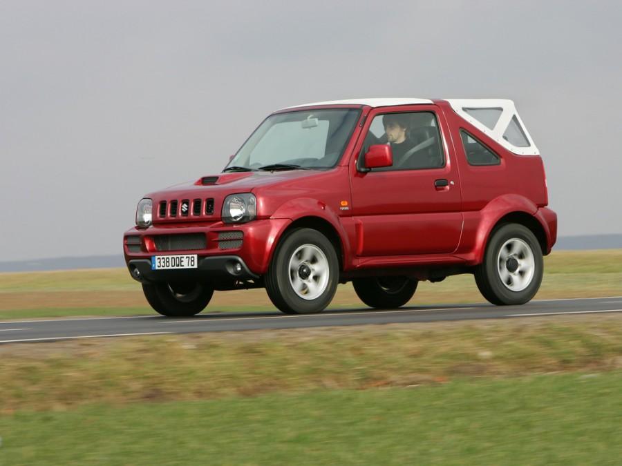 Suzuki Jimny кабриолет, 2005–2012, 3 поколение [рестайлинг] - отзывы, фото и характеристики на Car.ru