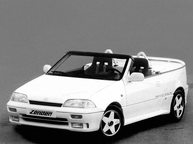 Suzuki Swift родстер, 1990–1996, 2 поколение - отзывы, фото и характеристики на Car.ru