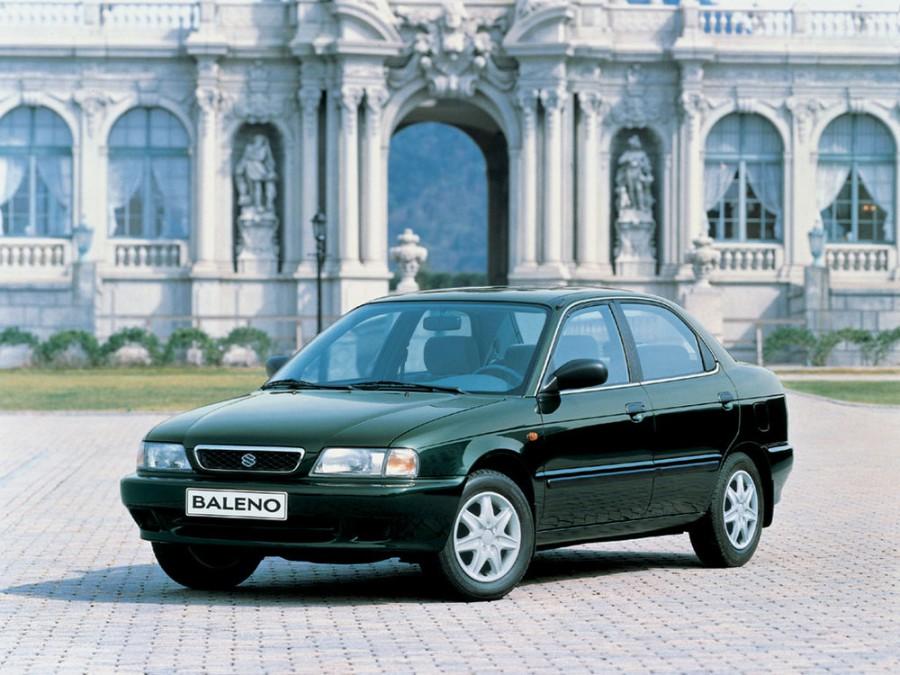 Suzuki Baleno седан, 1995–2002, 1 поколение - отзывы, фото и характеристики на Car.ru