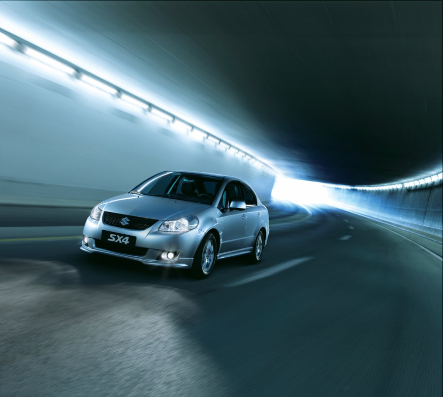 Suzuki SX4 седан, 2006–2012, 1 поколение - отзывы, фото и характеристики на Car.ru