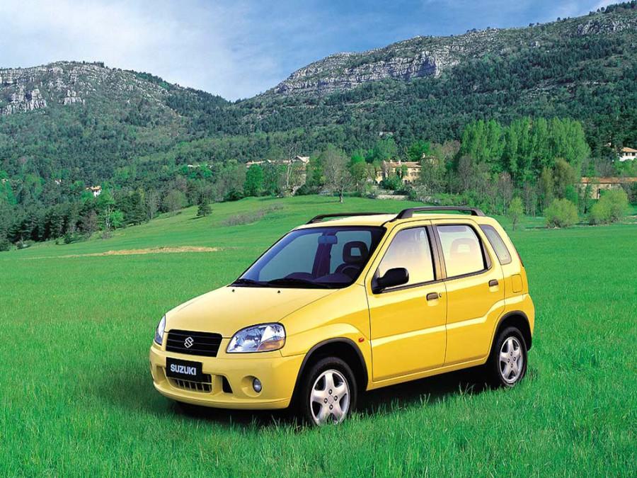 Suzuki Ignis хетчбэк 5-дв., 2000–2003, 1 поколение - отзывы, фото и характеристики на Car.ru