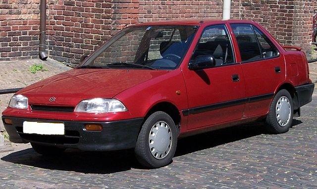 Suzuki Swift седан 4-дв., 1990–1996, 2 поколение - отзывы, фото и характеристики на Car.ru