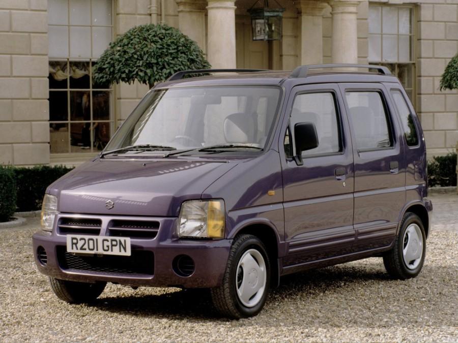 Suzuki Wagon R минивэн 5-дв., 1993–1999, 1 поколение - отзывы, фото и характеристики на Car.ru