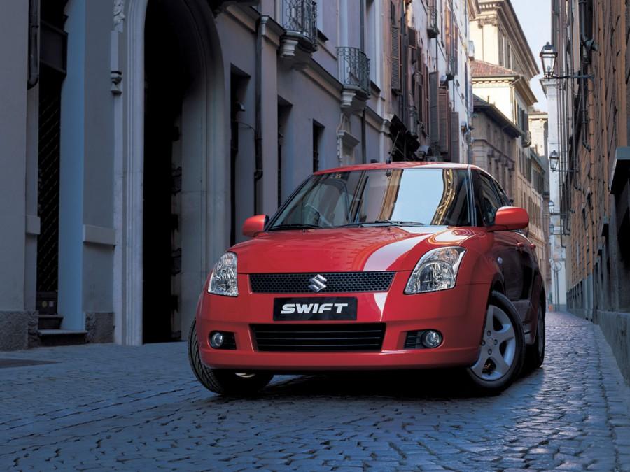 Suzuki Swift хетчбэк 5-дв., 2004–2010, 3 поколение - отзывы, фото и характеристики на Car.ru