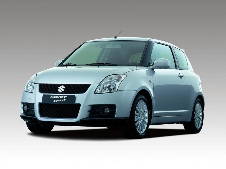 Suzuki Swift Sport хетчбэк 3-дв., 2004–2010, 3 поколение - отзывы, фото и характеристики на Car.ru