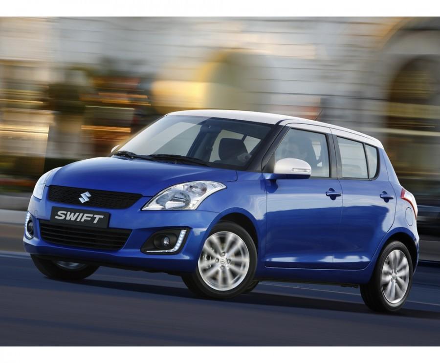 Suzuki Swift хетчбэк 5-дв., 2013–2015, 4 поколение [рестайлинг] - отзывы, фото и характеристики на Car.ru