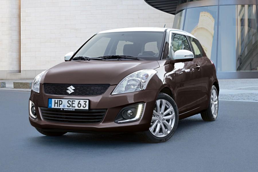 Suzuki Swift хетчбэк 3-дв., 2013–2015, 4 поколение [рестайлинг] - отзывы, фото и характеристики на Car.ru