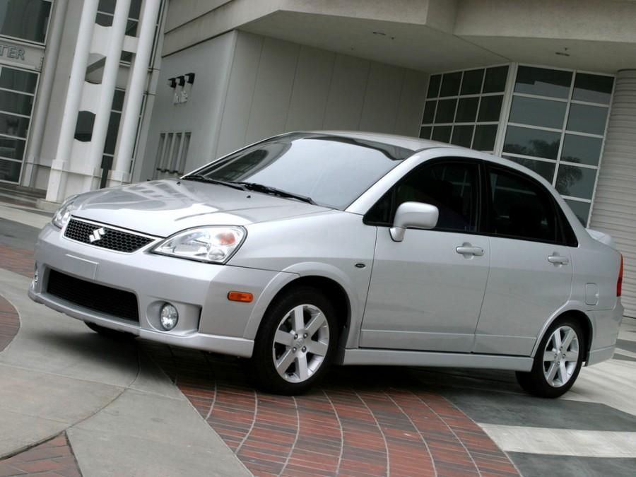 Suzuki Aerio седан, 2004–2007, 1 поколение [рестайлинг] - отзывы, фото и характеристики на Car.ru