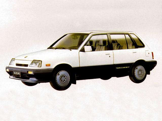 Suzuki Swift хетчбэк 5-дв., 1986–1988, 1 поколение [рестайлинг] - отзывы, фото и характеристики на Car.ru