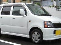 Suzuki Wagon R, 2 поколение [рестайлинг], Минивэн 5-дв., 2000–2003