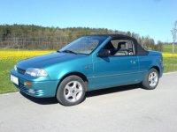 Suzuki Swift, 2 поколение, Кабриолет, 1990–1996