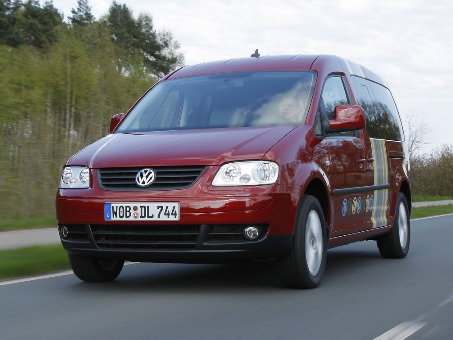 Volkswagen Caddy Tramper Maxi минивэн 5-дв., 2004–2010, 3 поколение - отзывы, фото и характеристики на Car.ru