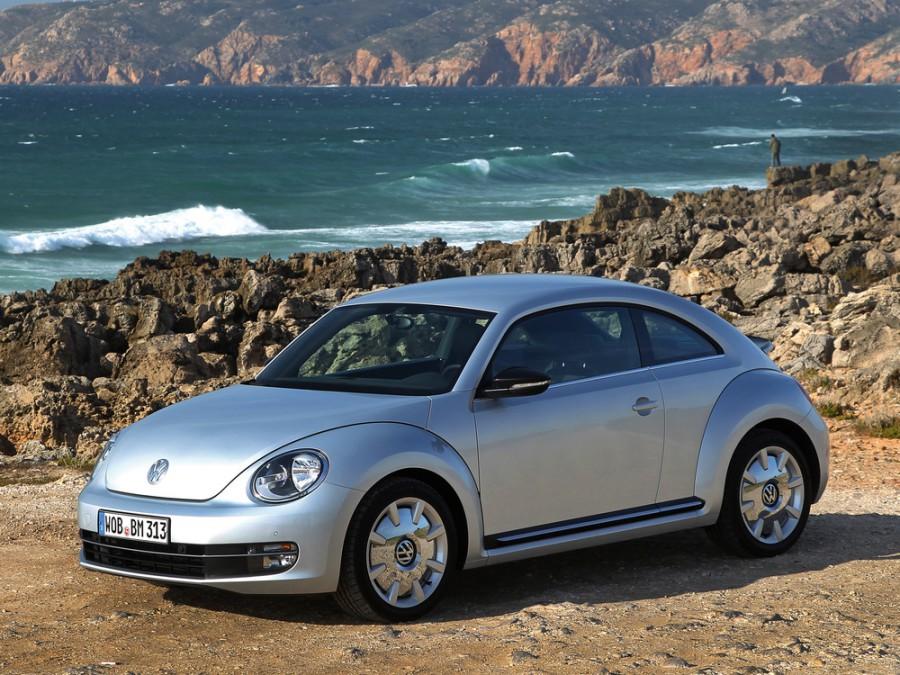 Volkswagen Beetle хетчбэк, 2012–2016, 2 поколение - отзывы, фото и характеристики на Car.ru
