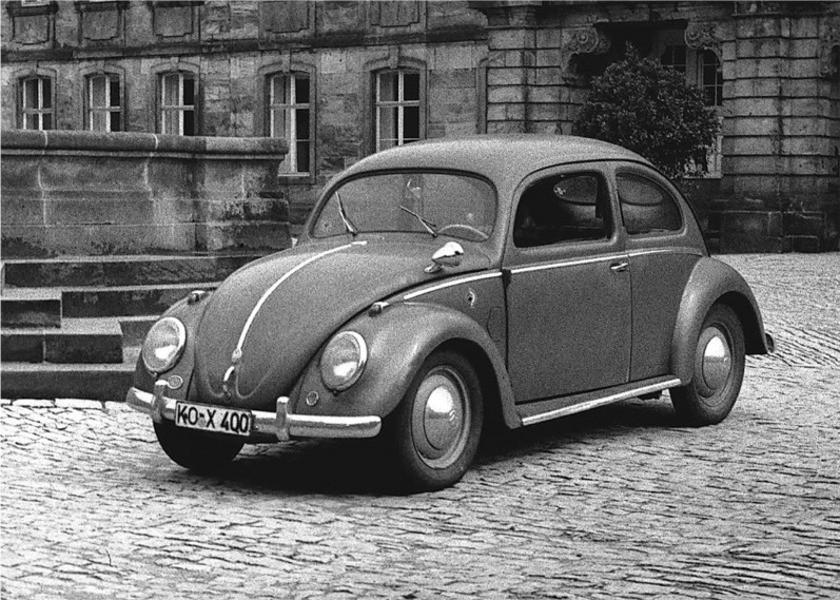 Volkswagen Beetle седан, 1946–1953, 1 поколение - отзывы, фото и характеристики на Car.ru