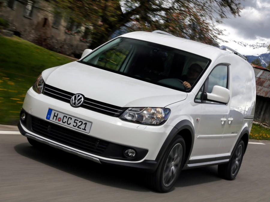 Volkswagen Caddy Cross Kasten фургон 4-дв., 2010–2016, 3 поколение [рестайлинг] - отзывы, фото и характеристики на Car.ru