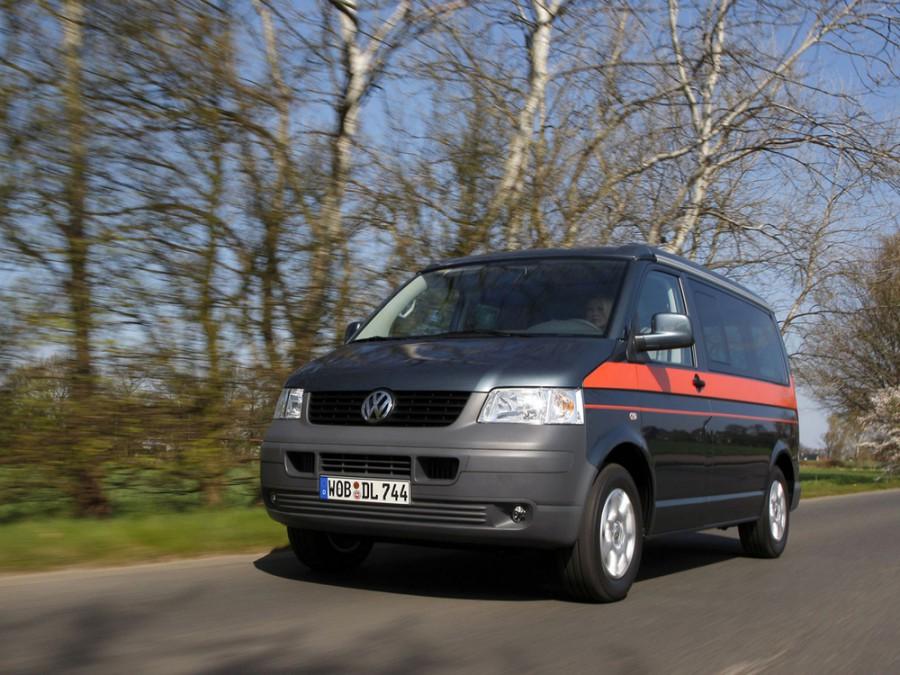 Volkswagen California микроавтобус, 2003–2009, T5 - отзывы, фото и характеристики на Car.ru