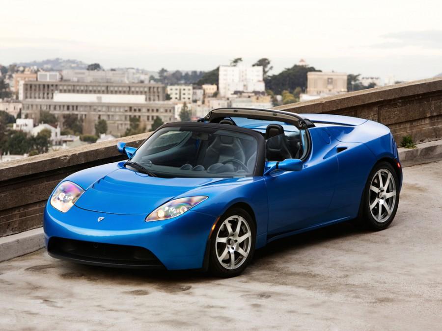 Tesla Roadster родстер, 1 поколение - отзывы, фото и характеристики на Car.ru