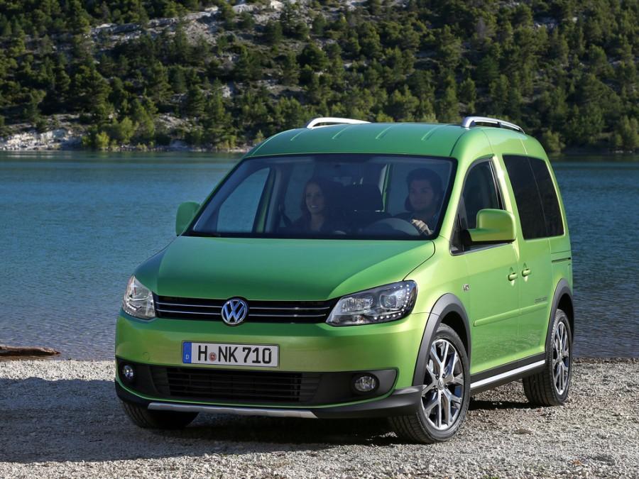 Volkswagen Caddy Cross минивэн 4-дв., 2010–2016, 3 поколение [рестайлинг] - отзывы, фото и характеристики на Car.ru