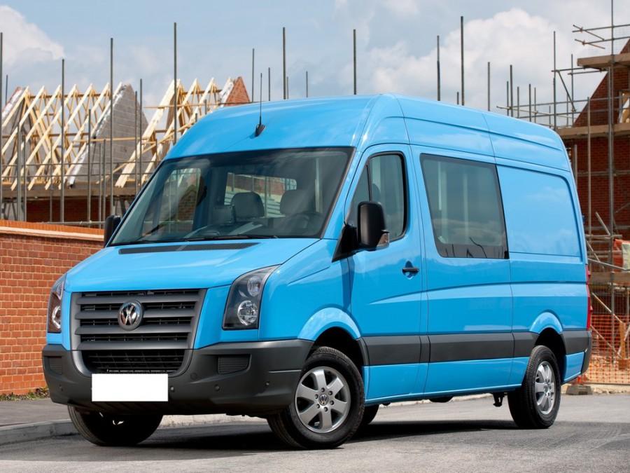 Volkswagen Crafter Комби микроавтобус 4-дв., 2006–2011, 1 поколение - отзывы, фото и характеристики на Car.ru