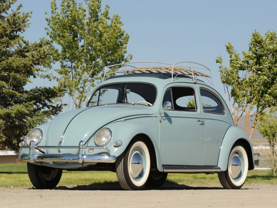 Volkswagen Beetle седан, 1953–1968, 1200/1300/1500 [рестайлинг] - отзывы, фото и характеристики на Car.ru