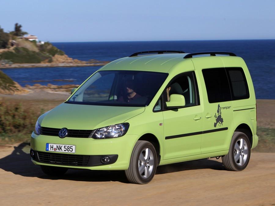 Volkswagen Caddy Tramper минивэн 5-дв., 2010–2016, 3 поколение [рестайлинг] - отзывы, фото и характеристики на Car.ru