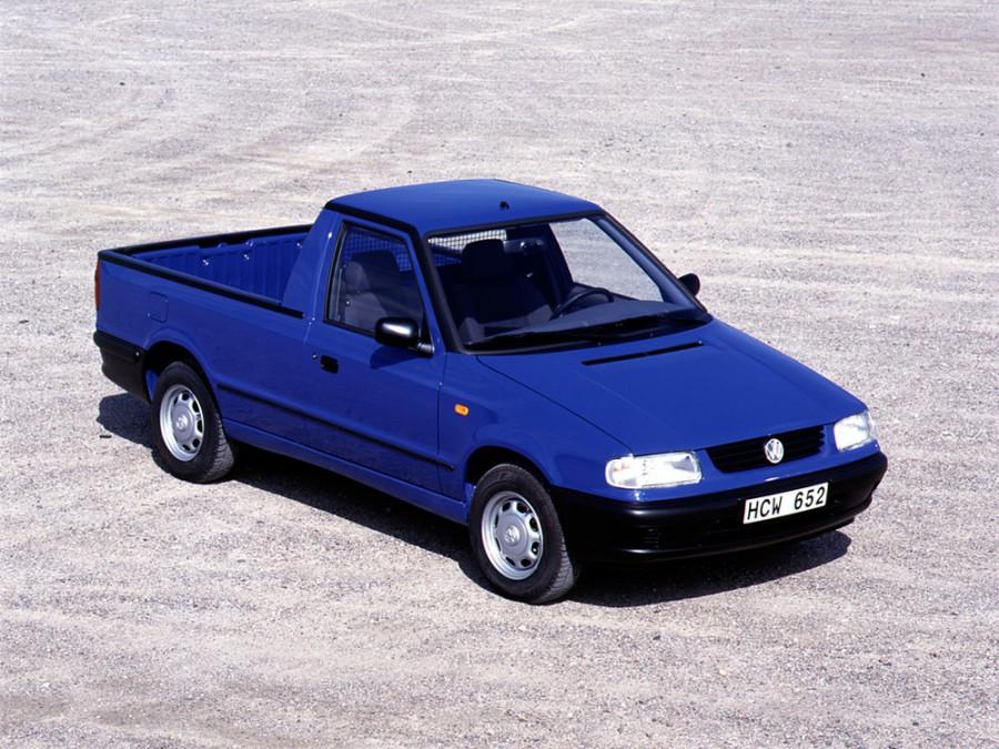 Volkswagen Caddy пикап, 1995–2004, 2 поколение - отзывы, фото и характеристики на Car.ru