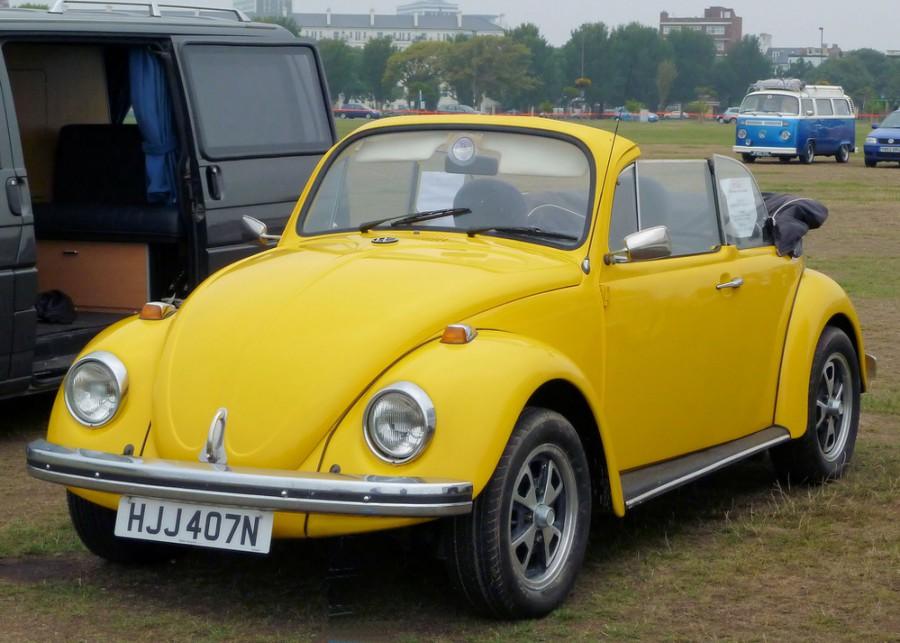 Volkswagen Beetle кабриолет, 1973–1985, 1200 [4-й рестайлинг] - отзывы, фото и характеристики на Car.ru