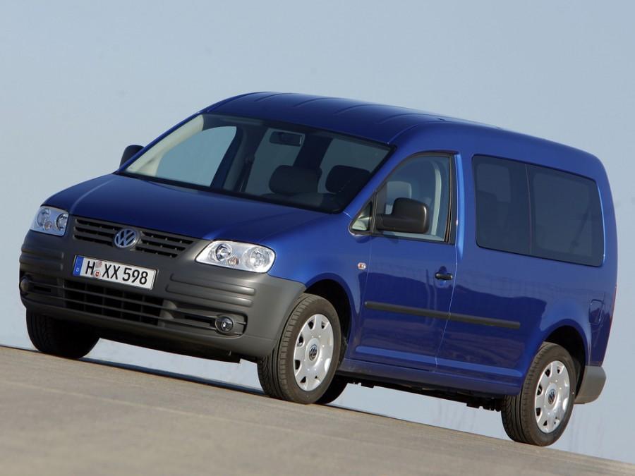 Volkswagen Caddy Maxi минивэн 4-дв., 2004–2010, 3 поколение - отзывы, фото и характеристики на Car.ru