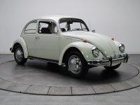 Volkswagen Beetle, 1200/1300/1500 [2-й рестайлинг], Седан, 1968–1973