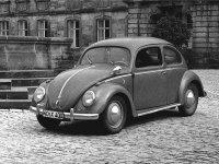 Volkswagen Beetle, 1 поколение, Седан, 1946–1953