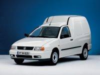 Volkswagen Caddy, 2 поколение, Фургон, 1995–2004