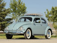 Volkswagen Beetle, 1200/1300/1500 [рестайлинг], Седан, 1953–1968