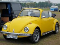 Volkswagen Beetle, 1200 [4-й рестайлинг], Кабриолет, 1973–1985
