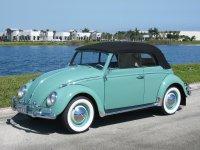 Volkswagen Beetle, 1200/1300/1500 [рестайлинг], Кабриолет, 1953–1968