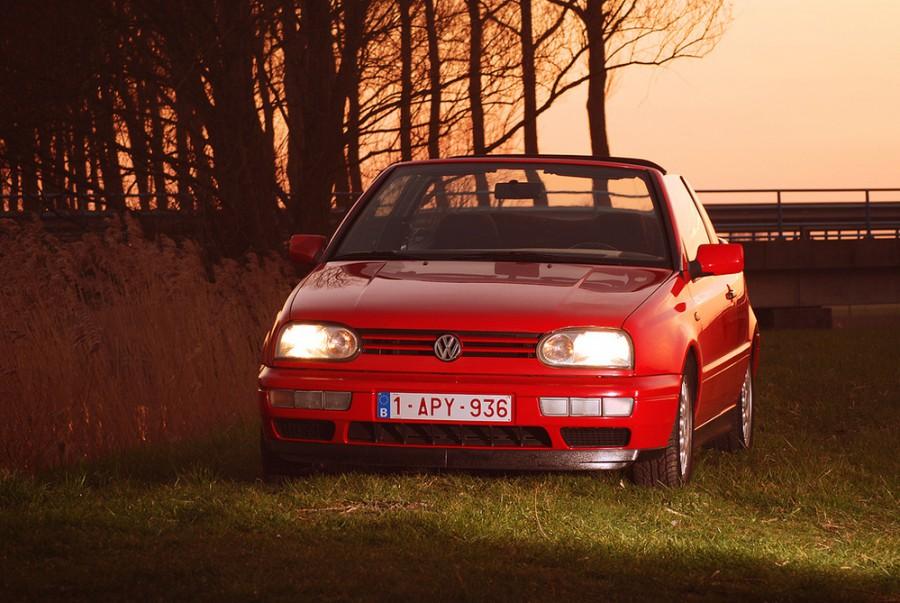 Volkswagen Golf кабриолет, 1991–1998, 3 поколение - отзывы, фото и характеристики на Car.ru