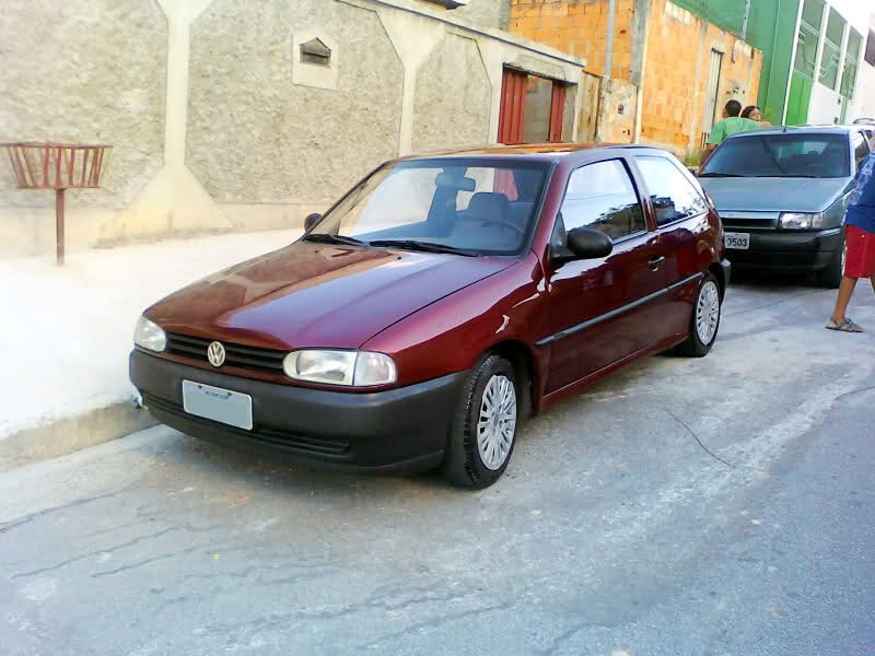 Volkswagen Gol хетчбэк, 1996–1999, G2 - отзывы, фото и характеристики на Car.ru