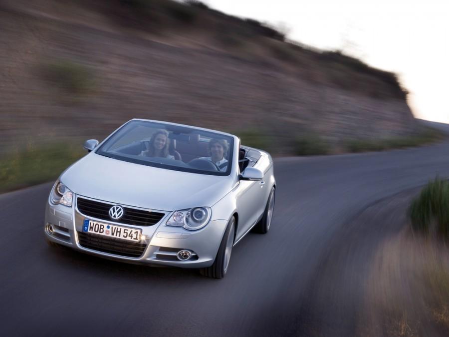 Volkswagen Eos кабриолет, 2006–2010, 1 поколение - отзывы, фото и характеристики на Car.ru