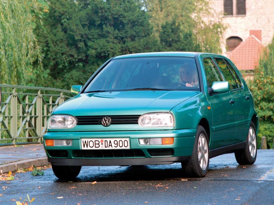 Volkswagen Golf хетчбэк 5-дв., 1991–1998, 3 поколение - отзывы, фото и характеристики на Car.ru