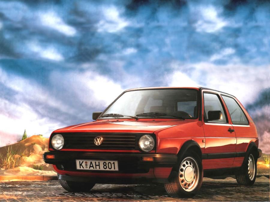 Volkswagen Golf хетчбэк 3-дв., 1983–1992, 2 поколение - отзывы, фото и характеристики на Car.ru